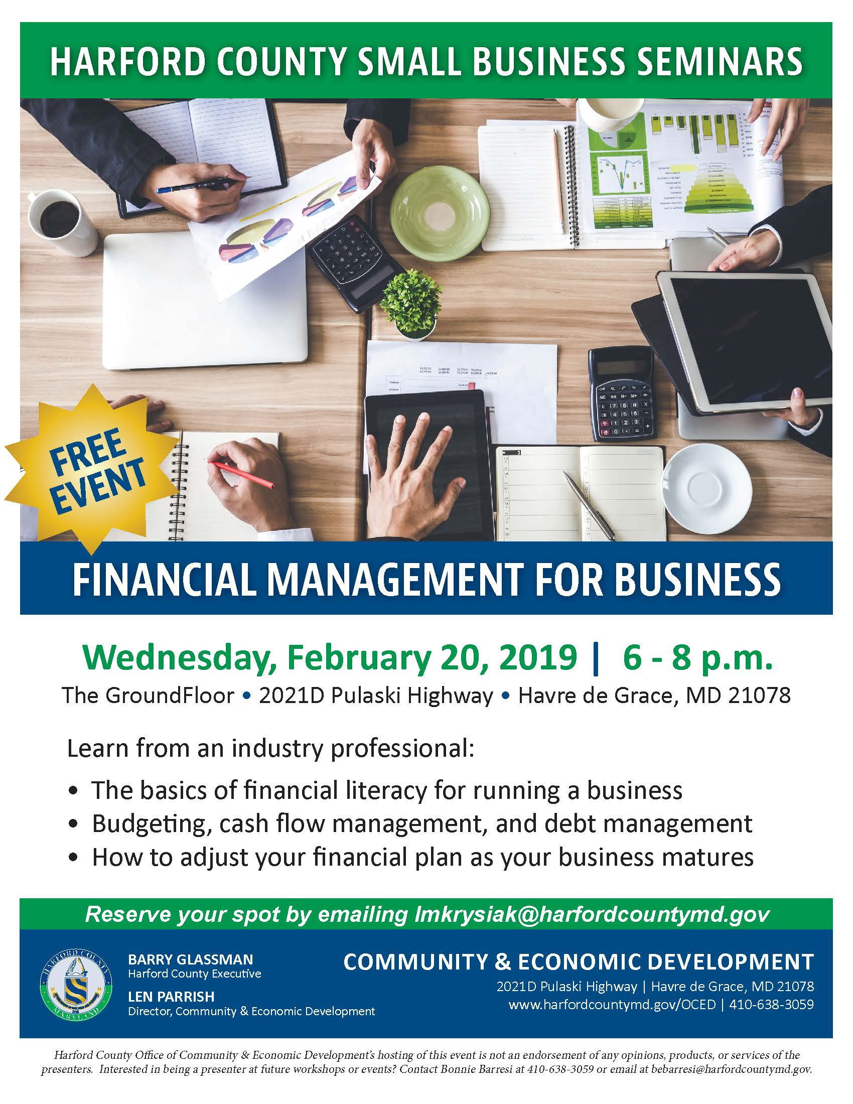 2019_02_February SBFS_Financial Management