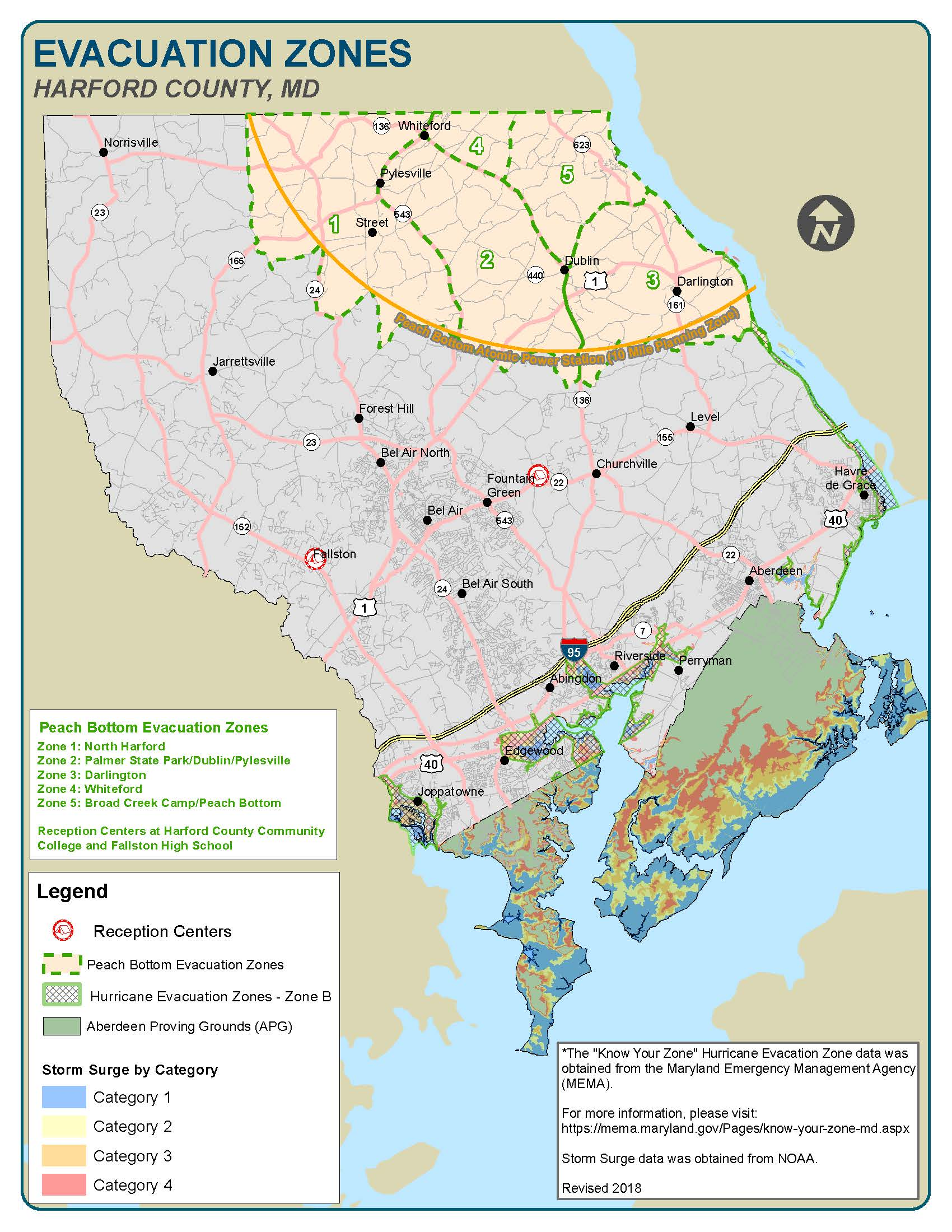 Preparedness Guide Map 2018