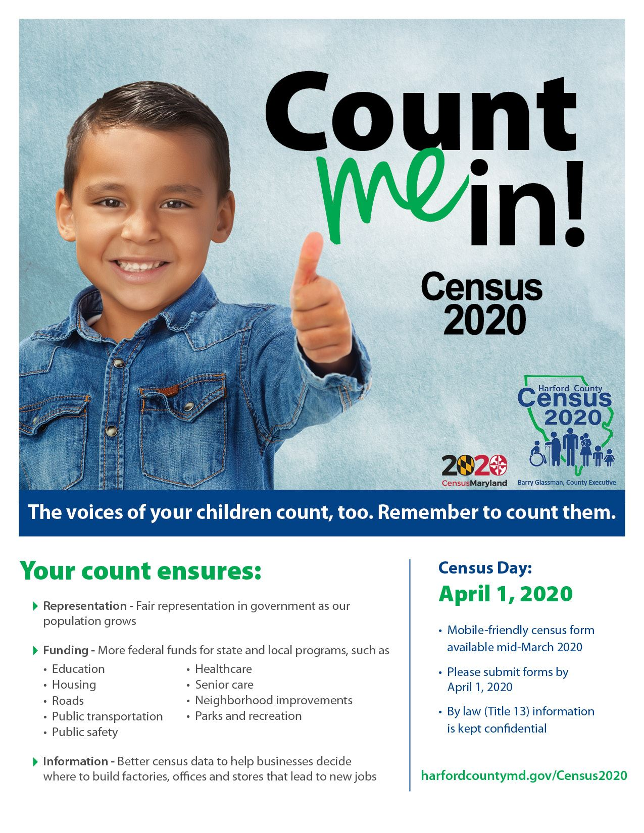 HCGCensus_CountMeIn Hispanic Flyer