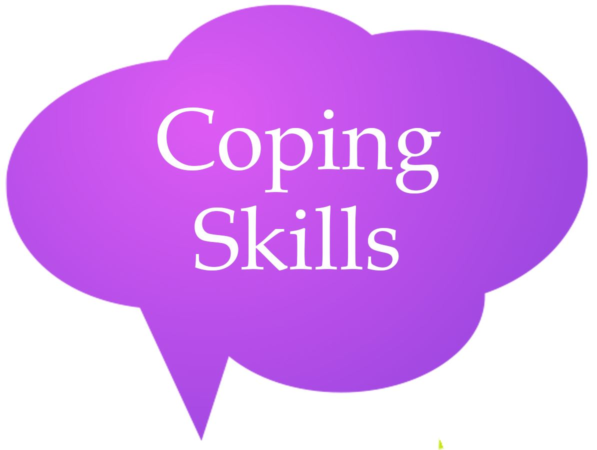 Coping Skills Speech Bubble