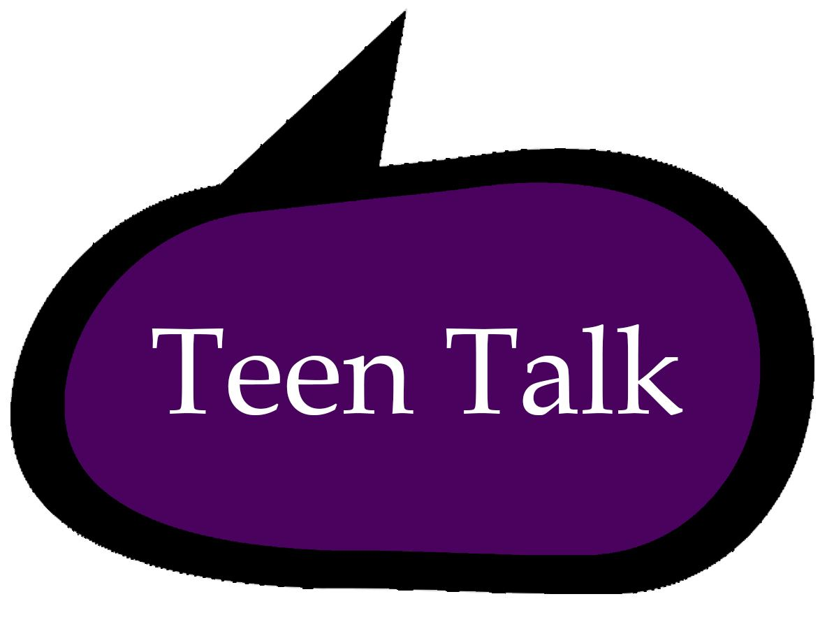 Teen Talk speech bubble