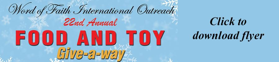 Word of Faith Holiday Giveaway Banner