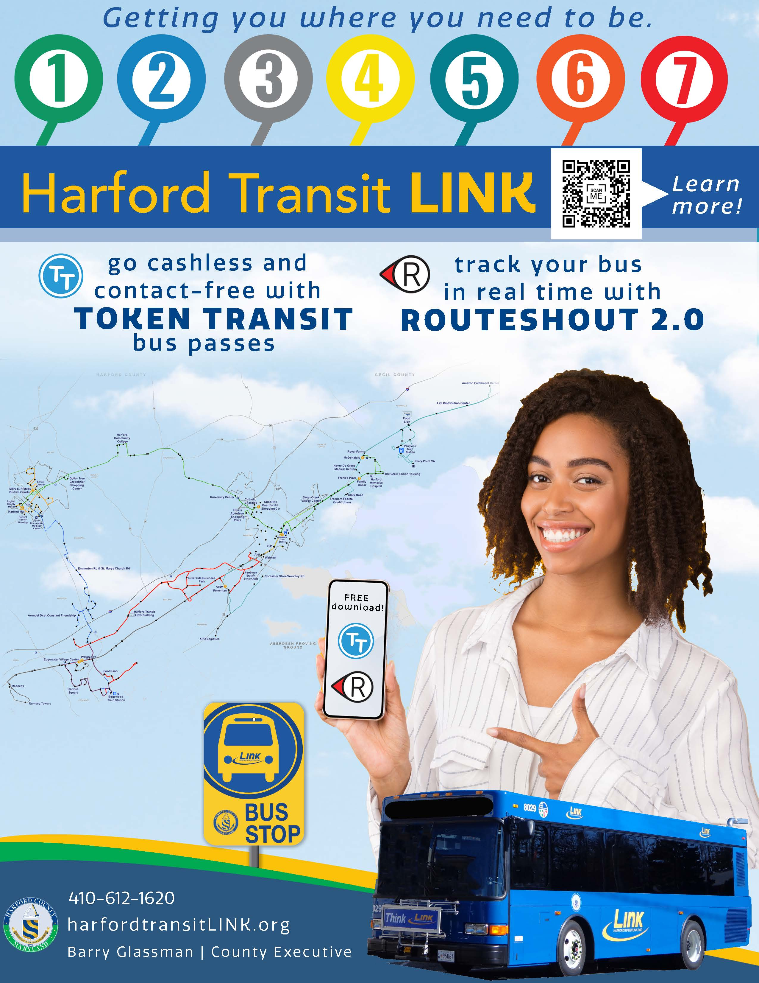 Harford Transit Link one page information