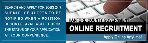 Harford County Government Apply Online Banner