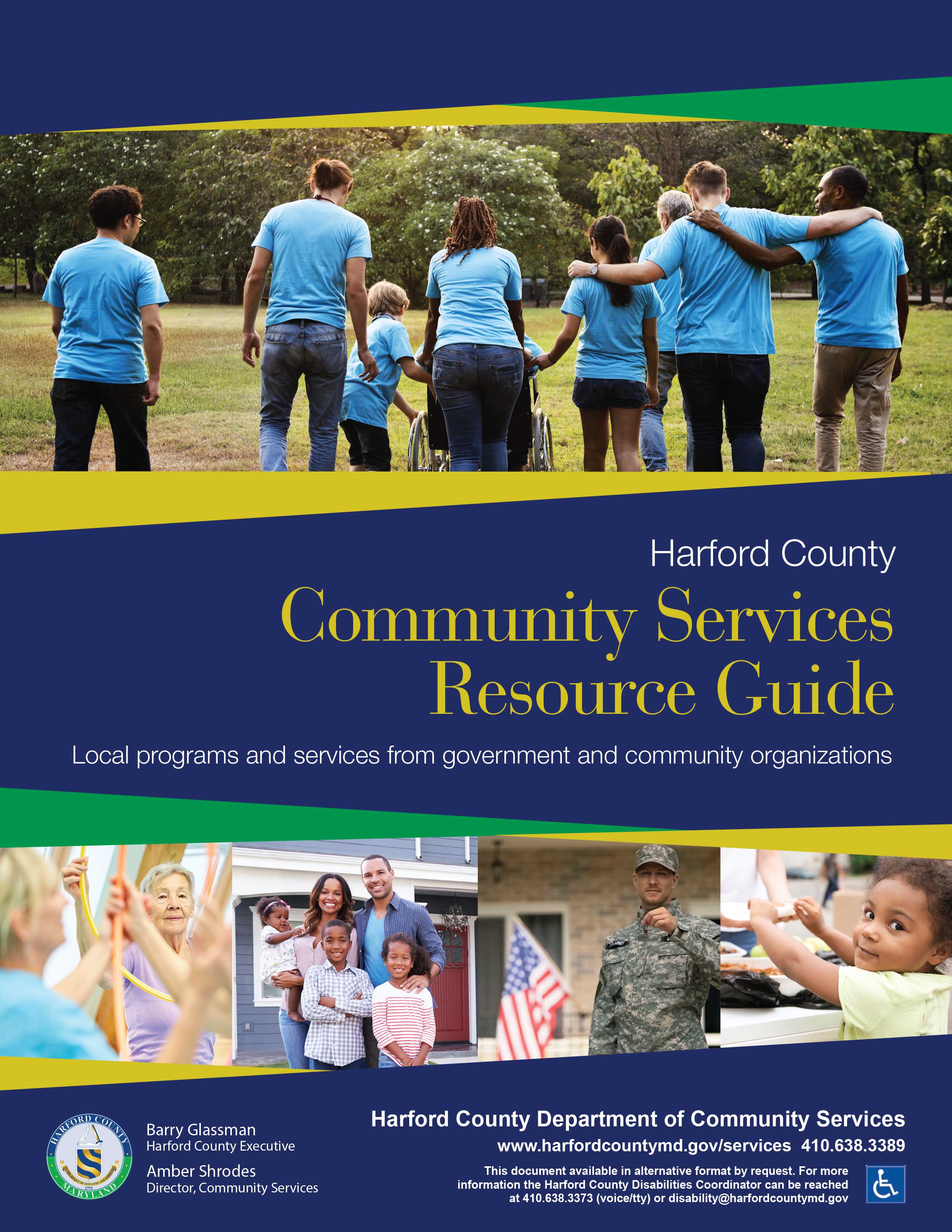 Harford County Resource Guide Button