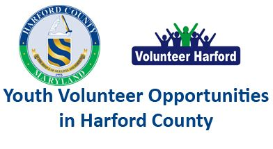 Youth Volunteer Opportunities Button